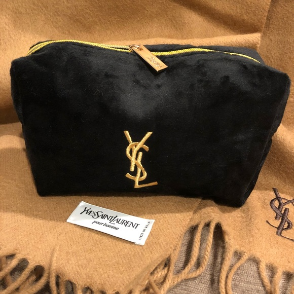 404da69f56f Yves Saint Laurent Bags   Authentic Nwot Ysl Yves Black Velvet ...